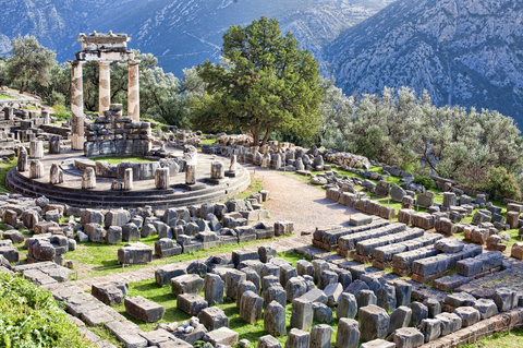 Temple of Athens at Delphi