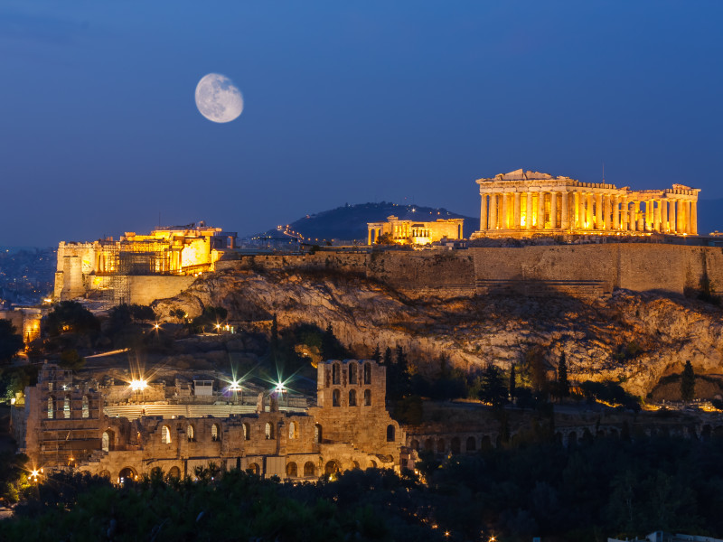Acropolis Night Original