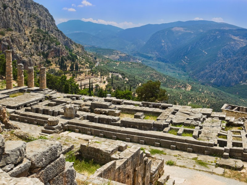 Copy of Delphi - Apollo Temple 2 Original