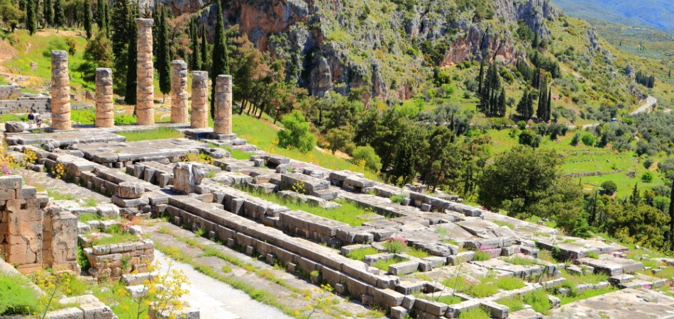 Delphi - Apollo Temple 2