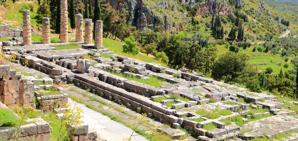 Delphi - Apollo Temple Original