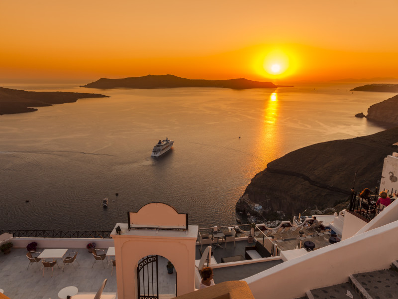 Santorini island,Greece