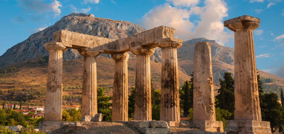 Temple of Apollo Ancient Corinth